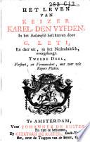 Het Leven Van Keizer Karel Den Vyfden