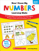 Now I Know My Numbers Learning Mats Grades Prek 1 Book PDF