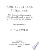 Horticultural Buildings