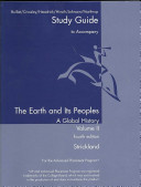 Bulliet  Earth and Its Peoples Study Guide Vol 2 4e Book PDF