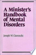 A Minister s Handbook of Mental Disorders Book