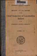Pdf Annual Report of the Director of Locomotive Inspection to the Interstate Commerce Commission