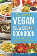 Vegan Slow Cooker Recipes Book PDF