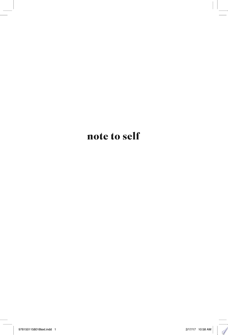 Note to Self image