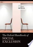 The Oxford Handbook of Social Exclusion