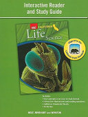 Science   Technology  Grade 6 Interactive Reader Study Guide Life Science Book