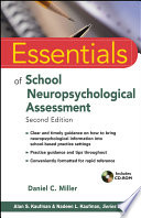 Essentials Of School Neuropsychological Assessment Book PDF