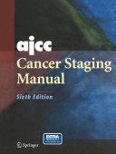 AJCC Cancer Staging Manual Pdf/ePub eBook