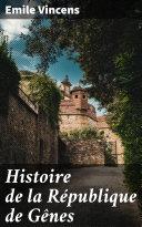 Pdf Histoire de la République de Gênes Telecharger