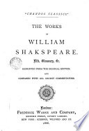 The Works Of W Shakespeare Life Book PDF