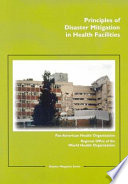 Principles of Disaster Mitigation in Health Facilities Book