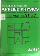 Japanese Journal of Applied Physics