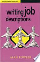 Writing Job Descriptions Book