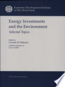 Energy Investments And The Environment Book PDF