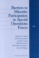 Barriers to Minority Participation in Special Operations Forces
