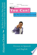 Yes You Can Diet Plan Quick Companion Guide in Spanish