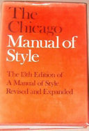 The Chicago Manual of Style Book PDF