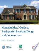 Homebuilder s Guide to Earthquake Resistant Design and Construction Book