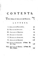 Letters of Abelard and Heloise  To which is prefix d  A particular account of their lives  amours  and misfortunes  extr  chiefly from  the Dictionnaire of  m  Bayle  tr   by J  Hughes   By J  Hughes  Together with the poem of Eloisa to Abelard  by mr  Pope  and the poem of Abelard to Eloisa  by mrs  Madan