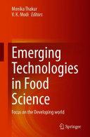Emerging Technologies in Food Science