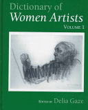 Dictionary of Women Artists  Introductory surveys   Artists  A I