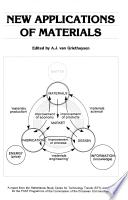 New Applications Of Materials Book PDF