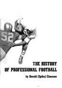 The History of Professional Football