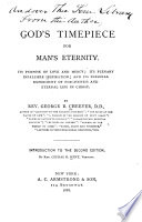 God s Timepiece for Man s Eternity Book