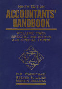 Accountants Handbook 2 Volume Set