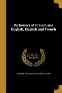 DICT OF FRENCH & ENGLISH ENGLI