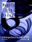 Magill s Cinema Annual Book