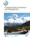 Protected Area Governance and Management Book