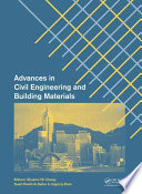 Advances in Civil Engineering and Building Materials