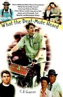 WHAT THE DEAF MUTE HEARD MOVIE TIE IN Pdf/ePub eBook