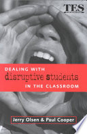 Cover of Dealing with Disruptive Students in the Classroom