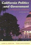 California Politics and Government