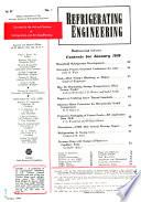 Refrigeration Engineering