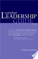 """The Student Leadership Guide"" by Brendon Burchard"