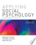 Applying Social Psychology Book