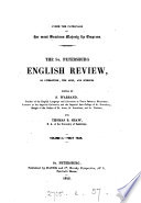 The St. Petersburg English review of literature, the arts and science, ed. by S. Warrand and T.B. Shaw