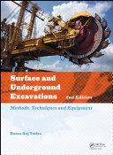 Surface and Underground Excavations, 2nd Edition [Pdf/ePub] eBook