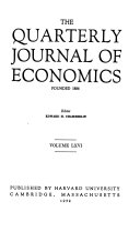 The Quarterly Journal of Economics