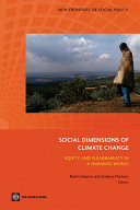 Pdf Social Dimensions of Climate Change Telecharger