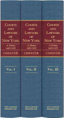 Courts and Lawyers of New York