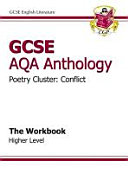GCSE Anthology AQA Poetry Workbook  Conflict  Higher
