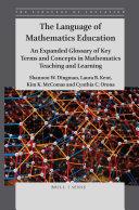 The Language of Mathematics Education