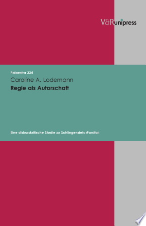 Download Regie als Autorschaft Free Books - Dlebooks.net