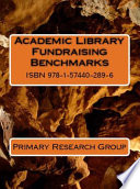 Academic Library Fundraising Benchmarks