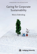 Caring for Corporate Sustainability