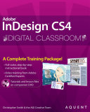 Indesign Cs4 Digital Classroom Book And Video Training